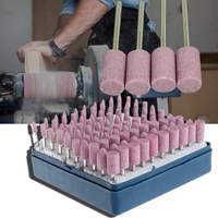 Abrasive Stone Point Shank Rotary Kit Electric Grinding Wheel Bit Set For Dremel H028 Drop Shpping