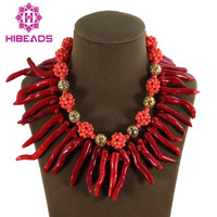 Free Shpping!Marvelous Red/Pink Coral Jewelry Set Gothic Coral Party Jewelry Set Hot Sale CJ044