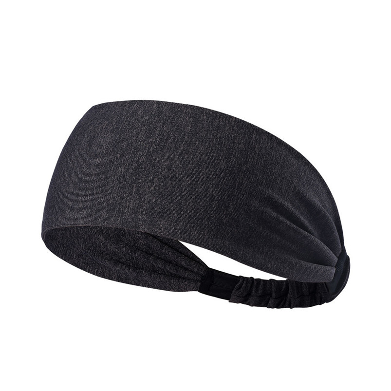 New Wide Sports Headbands Breathable Durable Stretch Elastic Yoga Running Headwrap Hair Band Sports Safety Sweatband #4S19 (1)