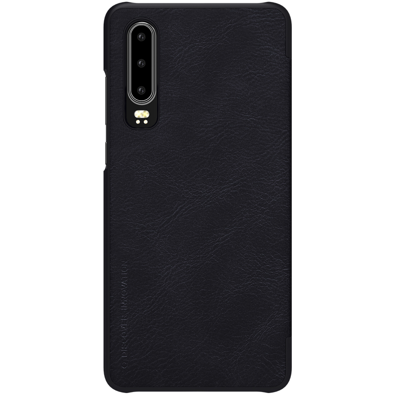 Huawei P30 Case For Huawei P30 Flip Cover NILLKIN QIN Series Flip Leather Case For Huawei P30 with Card Pocket Wallet Cover