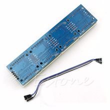 For MAX7219 Dot Matrix Module Microcontroller 4 In One Display with 5P Line
