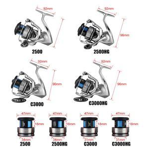 Image 5 - 2019 dotyczące swojej SHIMANO STRADIC FL 1000 2500 2500HG C3000HG C3000 4000MHG C5000XG Spinning wędkarstwo kołowrotek 9KG HAGANE X PROTECT kołowrotek słonowodne