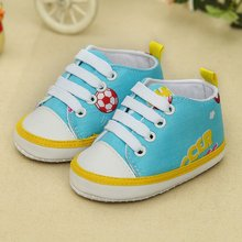 Newborn Baby Boys Girls Infant Toddler Cute Animal Lace-Up Comfortable Prewalker Soft Sole Anti-slip Shallow Shoes
