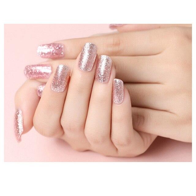 Elite99 10ml Rose Gold Glitter UV Gel Nagellack Nude Farbe Nagel Gel Polnisch Gel Lack Tränken Weg Von Nagel art Lack Maniküre DIY