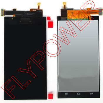 For Huawei Ascend P2 lcd screen display + touch screen digitizer assembly by free shipping new lcd display touch screen digitizer assembly replacement accessories for huawei ascend honor 7 above phone lc free shipping