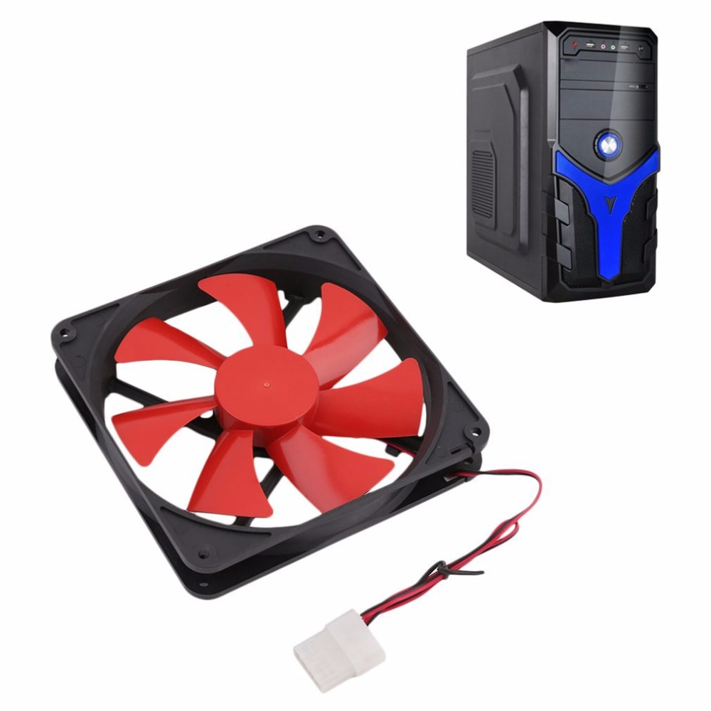 140MM Universal PC Computer Cooling Fan Popular Durable Use PC Fan Cooling For Computer Case new 3u ultra short computer case 380mm large panel big power supply ultra short 3u computer case server computer case