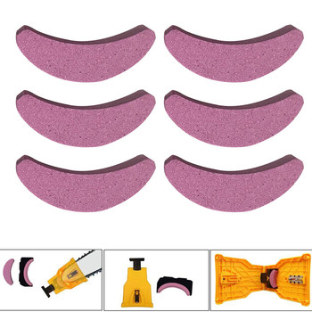 Chain Grinder Accessories Grinding Stone Fast for Saw Chain Sharpening Tools 6PC Grinding Stone Grinding Wheel Home Improvment
