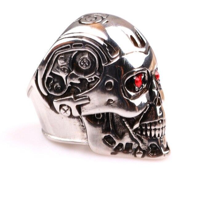 Кольцо Терминатор металлическое 2