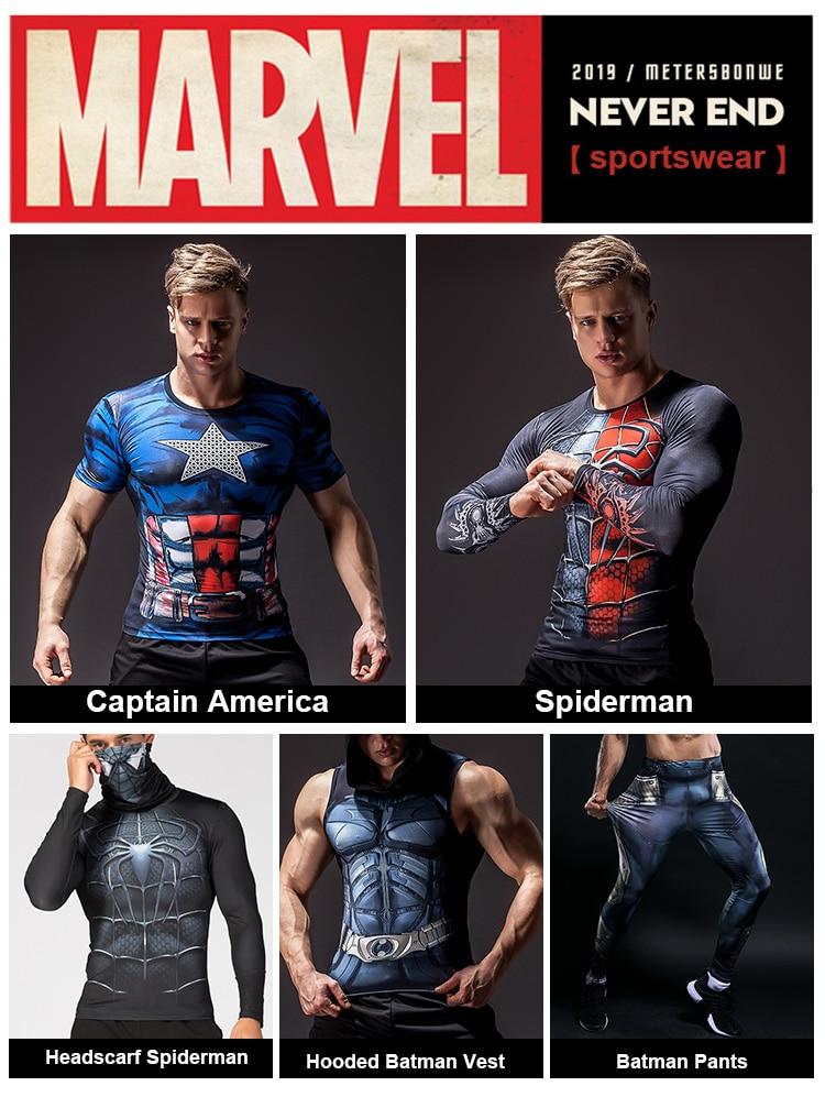 Men's Superhero 3D Printed Tank Top 7