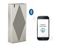 S5-Bluetooth(ID) Free Shipping Bluetooth & EM Access Control Metal Case Anti-vandal Waterproof RF ID Chip Card Reader