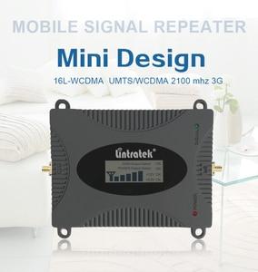 Image 2 - Lintratek 3G Repeater Versterker Wcdma 2100 Mhz Signaal Booster 2100 Lte Band 1 Met Lcd scherm Mobiele Telefoon Signaal repeater Kit55