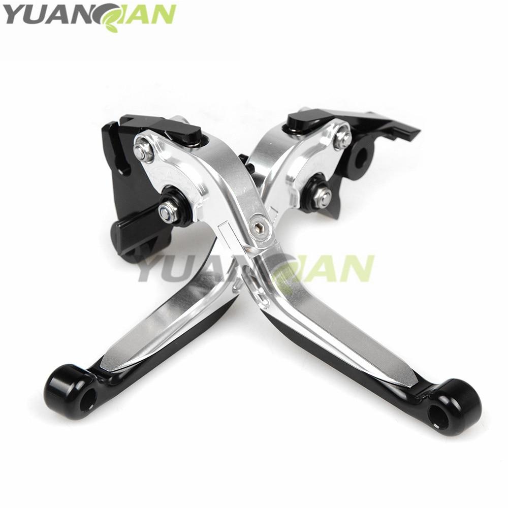 CNC Adjustable Folding Extendable Motorcycle Brake Clutch Levers For Kawasaki  Z750R 11-2012  Z1000SX/NINJA 1000/Tourer 11-2016 cnc adjustable folding