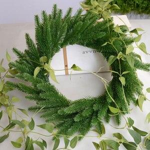 Image 3 - 1 חבילה מלאכותי פרח מזויף צמחי ענפי אורן עץ חג המולד מסיבת חג המולד קישוטי חג המולד עץ קישוטי ילדים מתנה