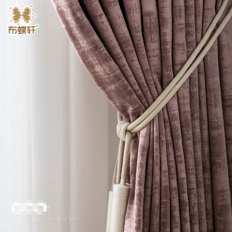 Us 3819 40 Off2019 New Arrival European And American Style Drape Luxury Thick Velvet Window Curtains For Living Room Bedroom Customized In