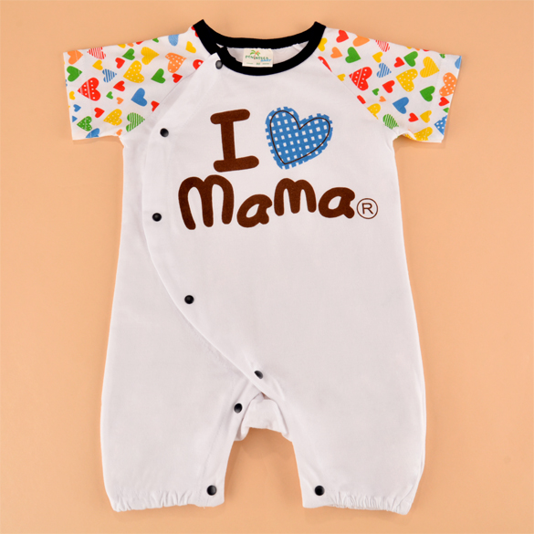 hotsale infant clothes baby rompers love mama papa newborn jumpsuit babies boy girls free shipping 66