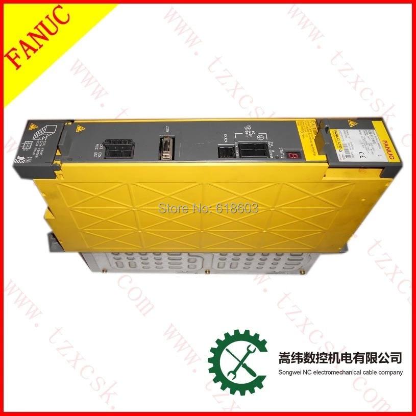 CNC controller system kits FANUC servo power supply A06B-6110-H006 cnc control amp beta isv 20 fanuc servo amplifier a06b 6132 h002
