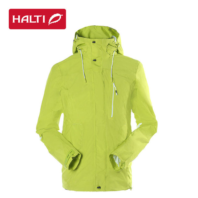 Waterproof breathable halti drymaxx elastic double layer adhesive punos  outdoor jacket female h0552973 db18b4db2