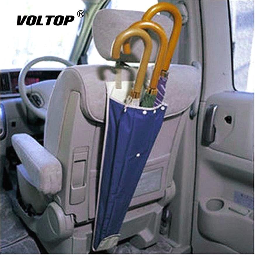 1Pcs Car Back Seat Organizer Umbrella Storage Bag Cover Foldable Case Long Waterproof