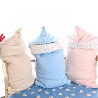 Baby Sleeping Bag Winter Envelope For Newborns Sleep Thermal Sack Cotton Kids Sleepsack Carriage chlafsack Infant Cocoon Wrap