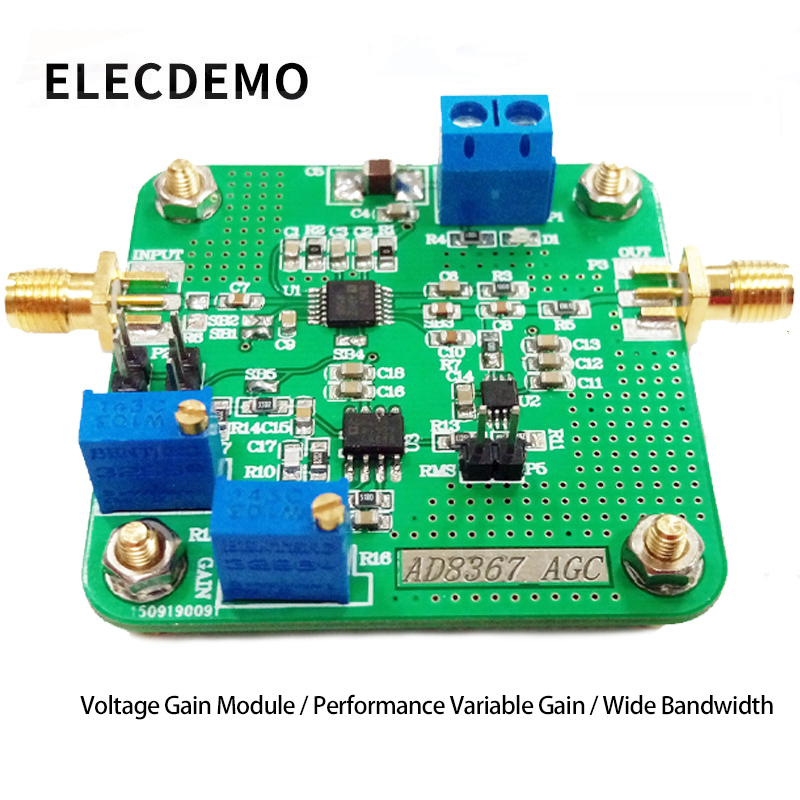 AD8367_AGC Voltage Gain Block High Performance Variable Gain Amplifier Wide Bandwidth Detector-in Demo Board Accessories from Computer & Office