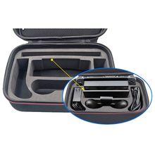 Zwart Grote Capaciteit Hard Shell Opbergtas Case Voor Nintend Switch Console En Nitendo Schakelaar Accessoires Met Handvat En Riem