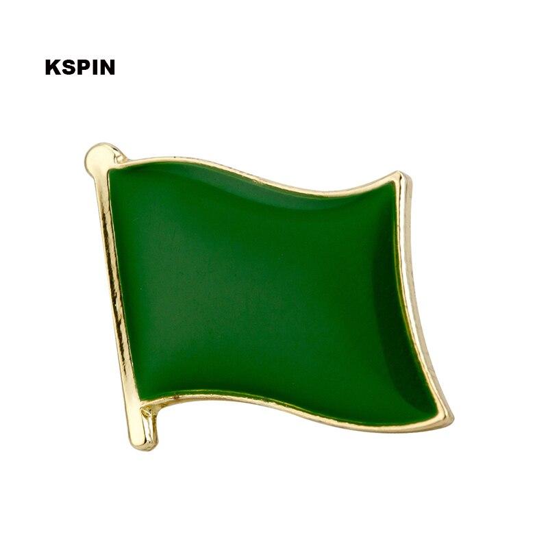 LIBYA OLD  Country Flag Metal lapel PIN BADGE ..NEW