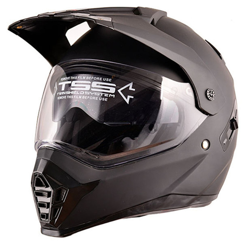 Heißer Verkauf Doppel Objektiv Full Face Motorrad Helm Racing Helm Motocross Off Road Kask Casco De Moto Motociclista DOT Genehmigt