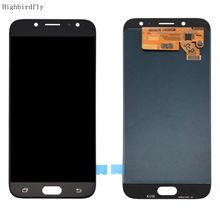 Amoled For Samsung J7 pro 2017 J730Fm/ds J730 J730Y J730H J730M SM-j730f/ds Lcd Screen Display+Touch Glass DIgitizer Full