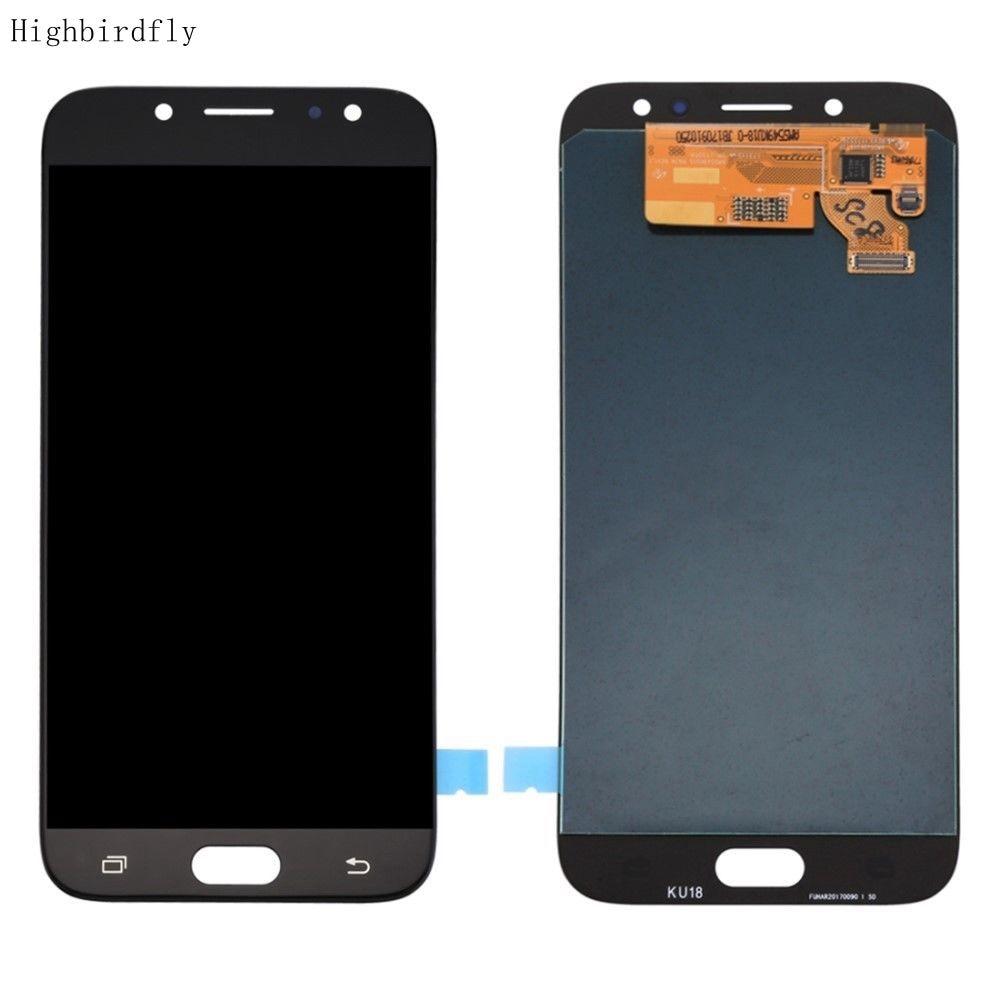 Amoled pour Samsung J7 pro 2017 J730Fm/ds J730 J730Y J730H J730M SM-j730f/ds écran Lcd + numériseur en verre tactile complet