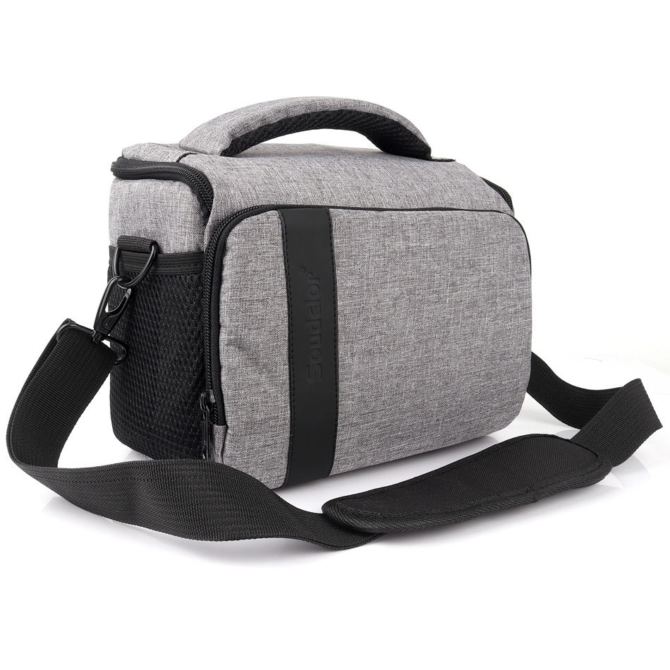 Waterproof DSLR Camera Bag Case <font><b>Cover</b></font> for <font><b>Canon</b></font> EOS 200D 1500D 1300D 1200D 100D 1100D 600D 700D 750D 760D 450D <font><b>550D</b></font> Shoulder Bag image
