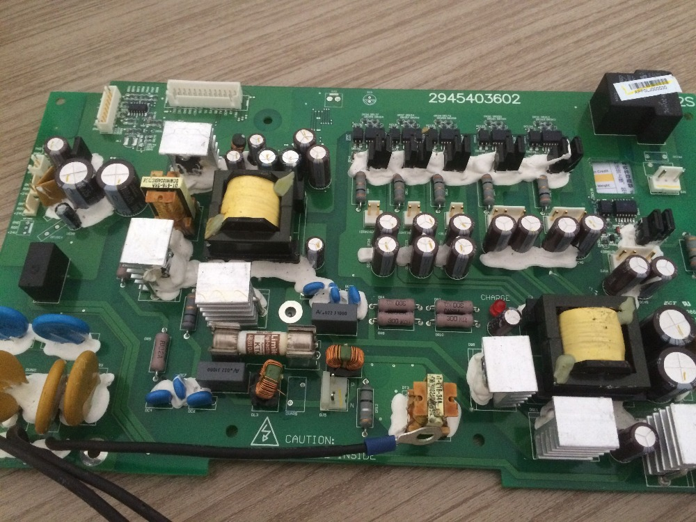 2945403602 90kw Frequency converter drive plate used in good condition can working good working condition r88d ua04v 90