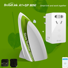 Broadlink A1 Air Detector+SP MINI SP CC WIFI Smart Timer Switch E-air Quality Humidity Test Wireless Control by APP IOS Android