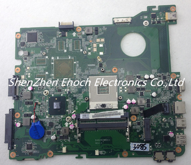 DA0ZRCMB6C1 for Acer E732 E732G laptop motherboard Integrated MBNCA06001 stock No.303