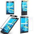 3d full borde curvado ultra clear 9 h borde a borde cobertura de cristal templado flim protector de pantalla para blackberry priv