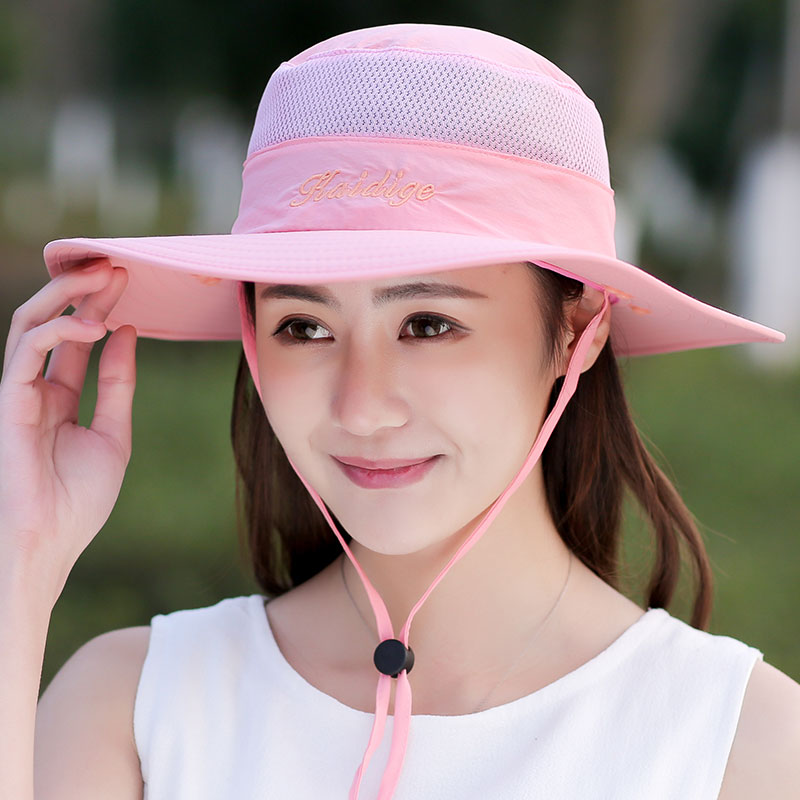 b5e16f7da61d3 Summer Sunshade Quick Drying Sun Hat With Face Neck Cover UV Protection  Breathable Cycling Climbing Fishing Sun Hat For Women-in Sun Hats from  Apparel ...