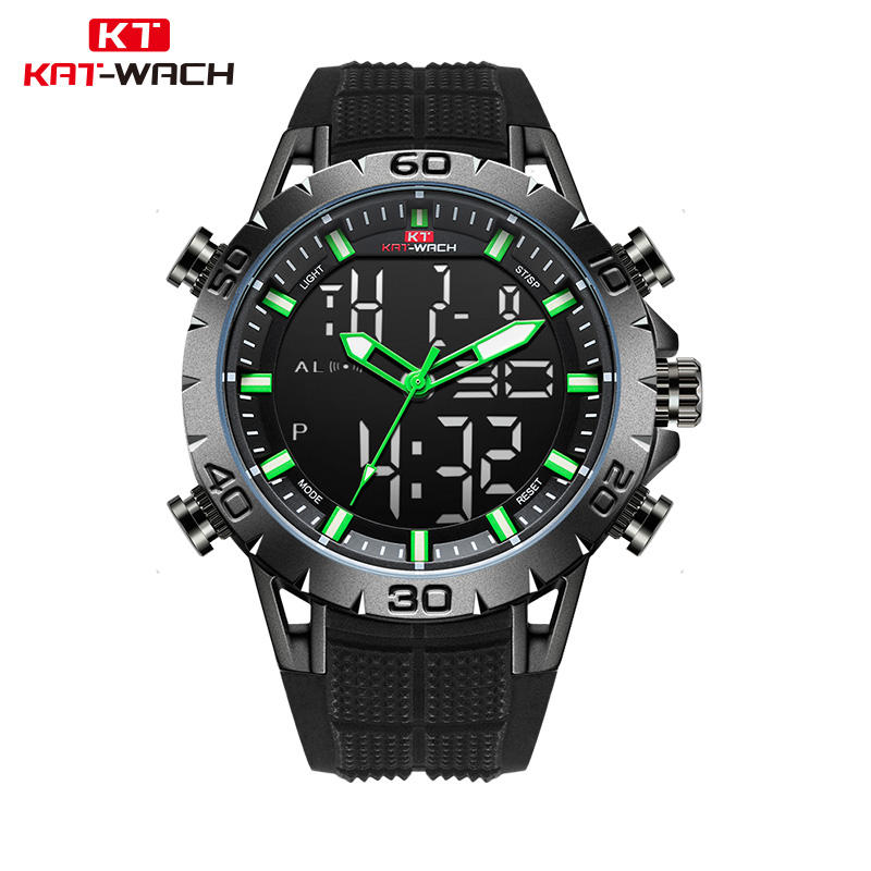 KAT-WACH Luxury Brand Mens Sports Watches waterproof Digital LED Military Watch Men Fashion Electronics Wristwatches Relojes image