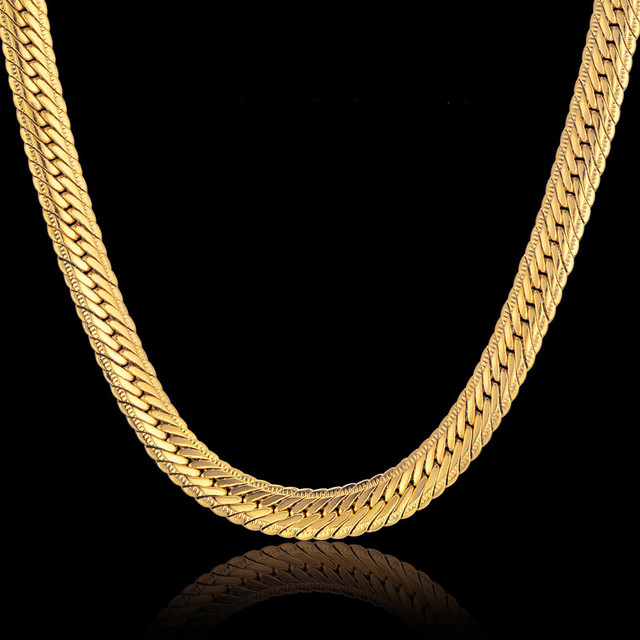 Gold Curb Long Chain