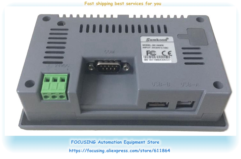 Samkoon HMI Touch Screen SK-043AE Updated To SK-043FE New Original Connectors Stock