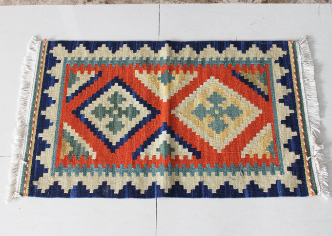 Tapis tissés en laine faits à la main tapis de portes nationales exotiques tapis nordiques campagne turque américaine 58gc149yg4