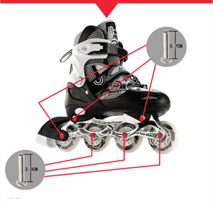 "Image 1 - 1 set 10 ציפורניים & אגוזים + 2 ידיות 3.7 ס""מ ו 3.0 ס""מ של Inline סקייט ברגים דבי רולר ברגי סקייט נעליים ללבוש נייל בורג גלגיליות"