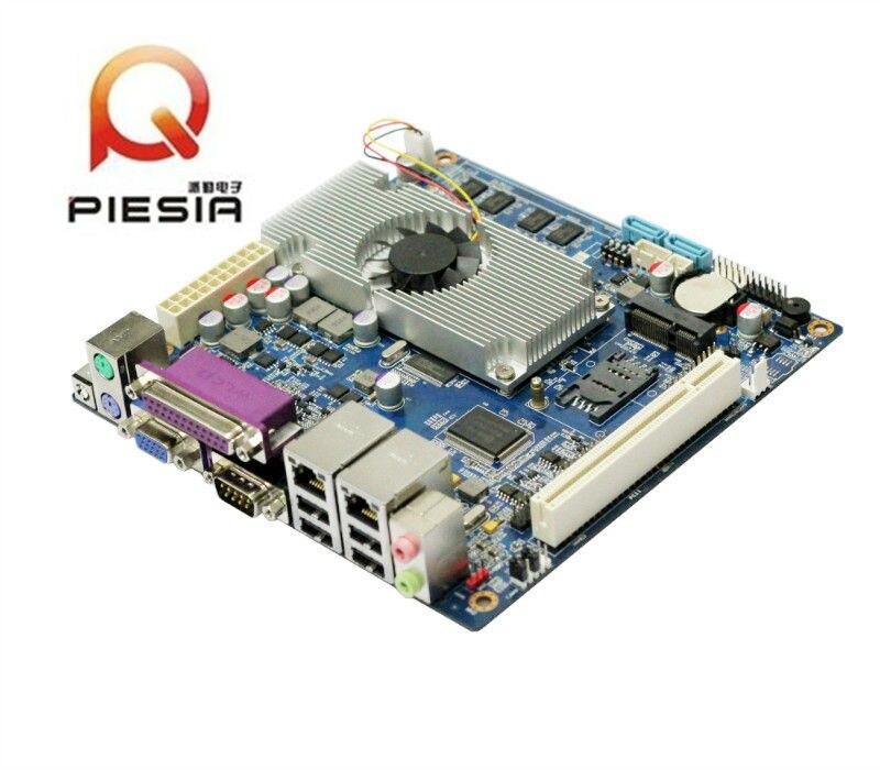 Workstation board usb 2.0 motherboard ultra-low-power board with 2*RJ45/6*COM 8*usb firewall industrial embeddded motherboard itx m9f supports intel j1900 2 00ghz quad core processor with 1 vga 6 usb 2 com