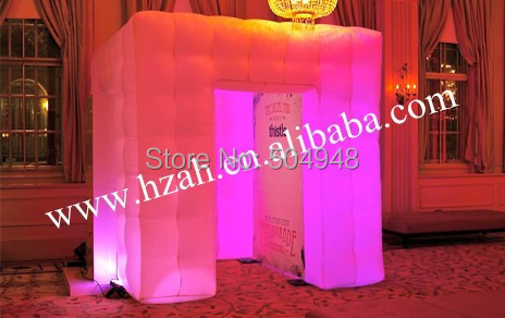 Free Shipping Lighting Inflatable Photo Booth Inflatable Cube Tent  free shipping 3x3x2 4m inflatable photo booth cube inflatable photo booth led inflatable photo booth for sale