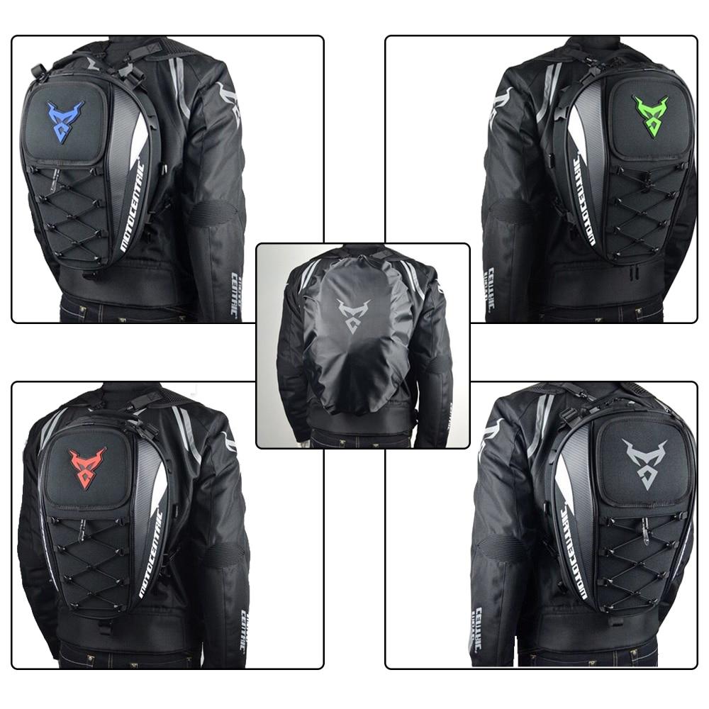 Brand New Waterproof Motorcycle Tail Bag Multifunction Motorcycle Rear Back Seat Bag High Capacity Motorcycle Rider Backpack (22)