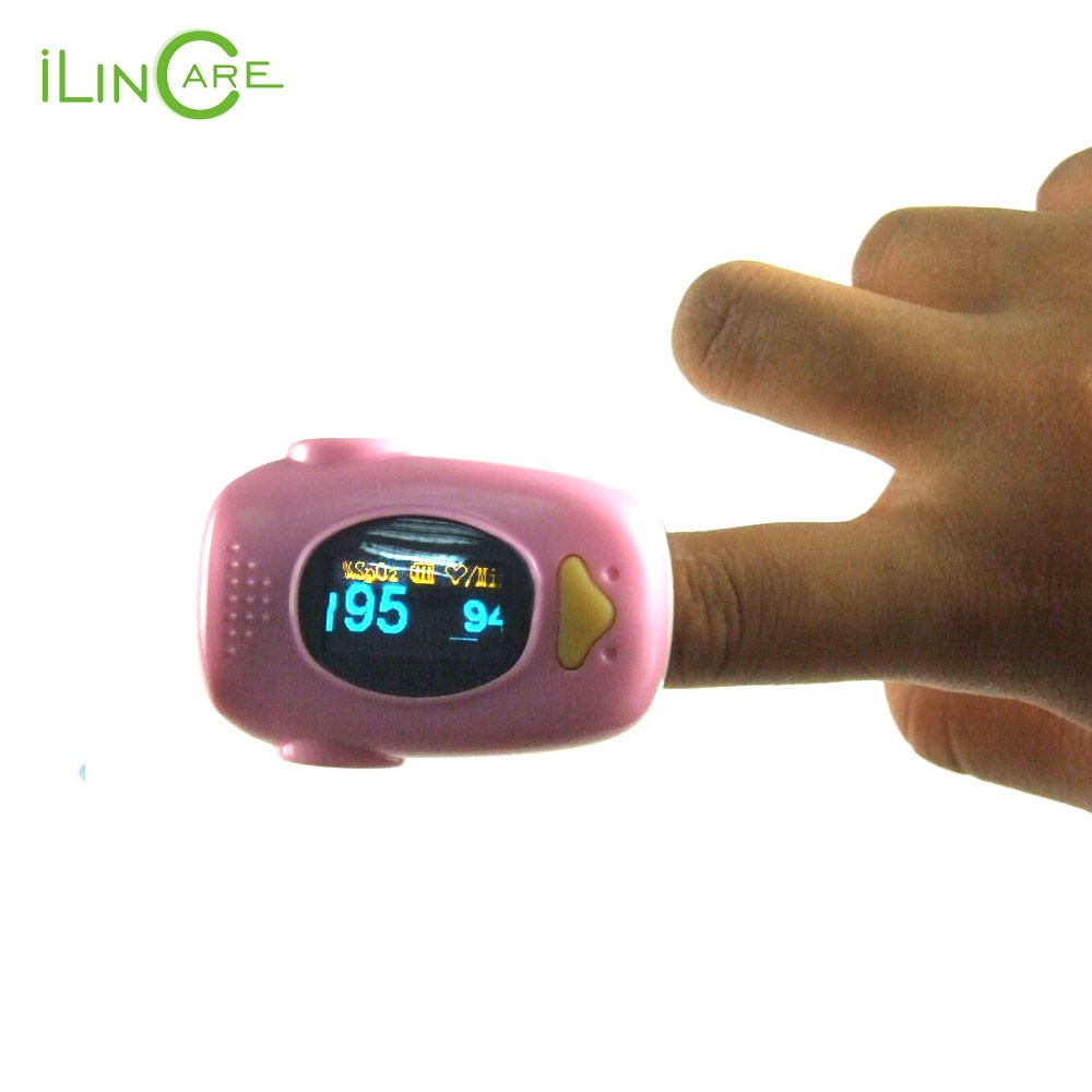 SpO2 and Heart rate Measuring Fingertip Pulse Oximeter for Child and Adult 2