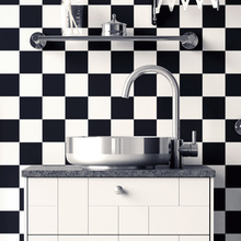 1Set/10Pcs PVC Self-adhesive Waterproof 3D Floor Stickers DIY Wall Sticker Decor Kitchen Bathroom Toilet Tile Wallpaper Decals