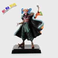 Japanese Anime One Piece 24cm Buggy Pvc Action Figure Joker Collection Model Toys Brinquedos