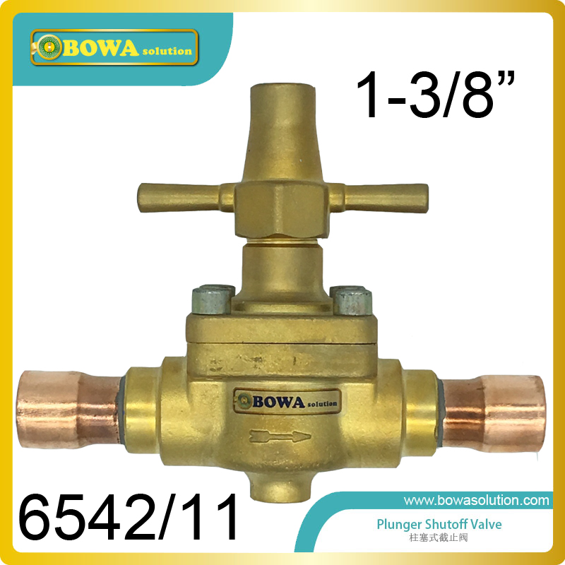 1-3/8 Global Shutoff Valve with extended longer copper tube suitable for commerce refrigeration plants and air conitioner global elementary coursebook with eworkbook pack