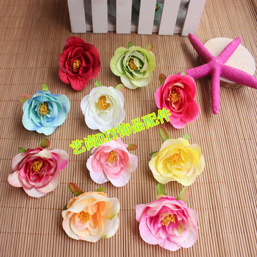 55cm small fabric camellia artificial silk tea roses headsprom 55cm small fabric camellia artificial silk tea roses headsprom corsage bracelethair craft flowersdiy centerpiece for tables mightylinksfo
