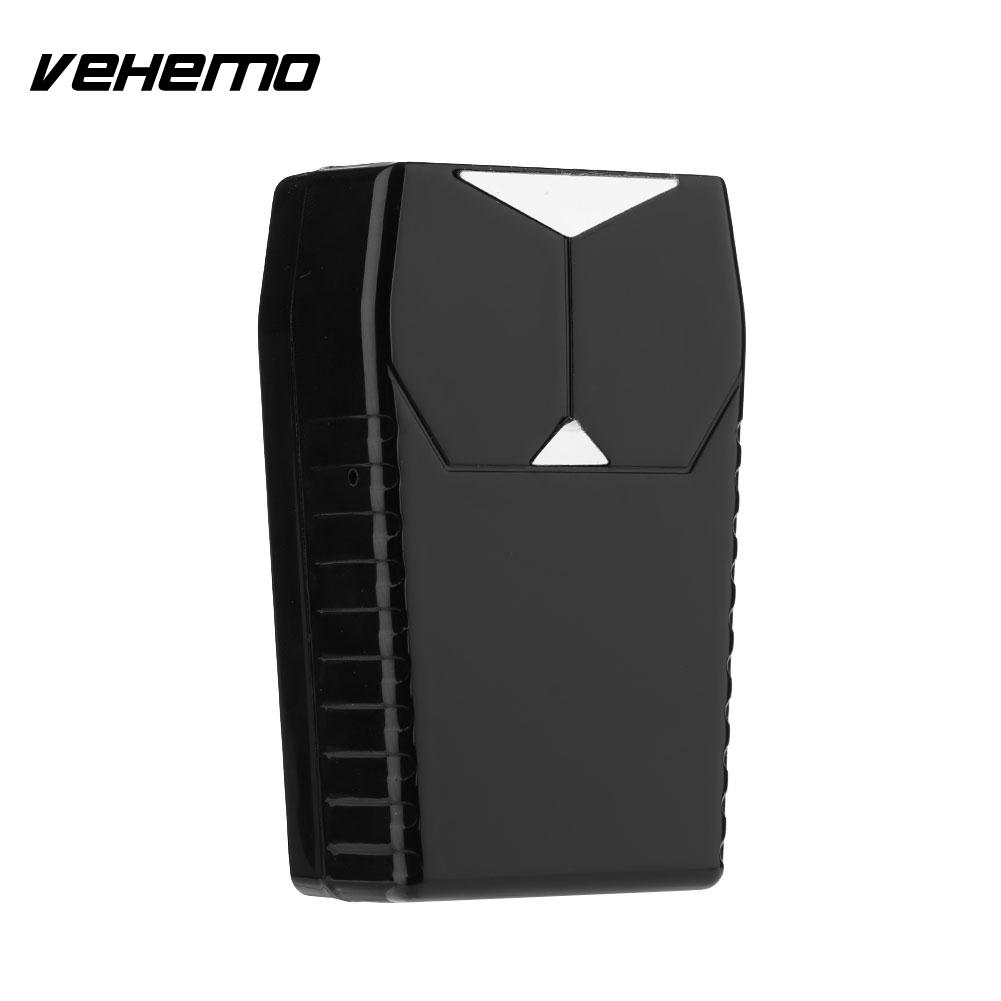 Vehemo GPS Tracker Car Locator Anti Theft Real Time 15Days Alarm System Tracking Device