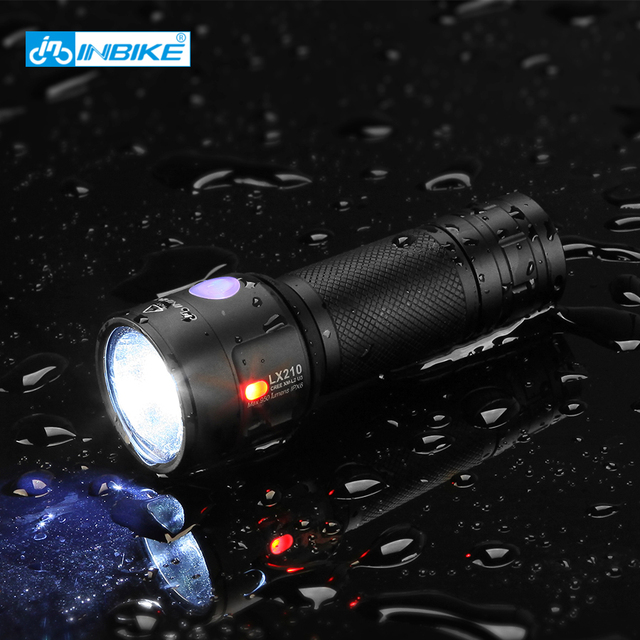 Waterproof rechargeable Bicycle Light CREE XM-L2 U3 18650 usb led rear front bike   light safety road mtb mountain flashlight